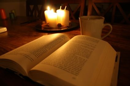 Reading in dim light hurts your eyes.