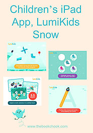Children's iPad App, LumiKids Snow