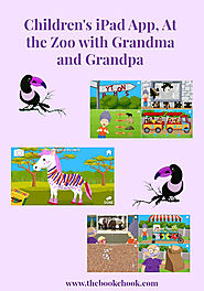 The Book Chook: Children's iPad App, At the Zoo with Grandma and Grandpa