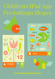 The Book Chook: Children's iPad App, PrestoBingo Shapes