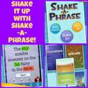 Children's iPad App, Shake-a-Phrase