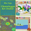 Children's Mac App, Chocolapps Art Studio