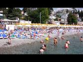 Massandra beach Yalta Ukraine