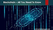All You Need To Know about Blockchain | Benefits | ContentParagon