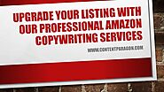 Amazon Listing Copywriting Services in India | ContentParagon