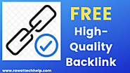 19+ Websites to Create High-Quality Backlinks (FREE)