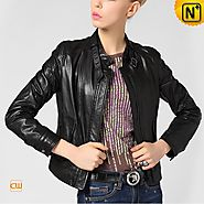 CWMALLS Women Motorcycle Jacket CW650019