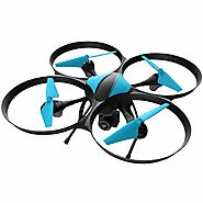 Force1 Video Drones with Camera for Adult and Kids U49W HD FPV Drone WiFi Camera VR RC Helicopter Spy Toy Drone with ...