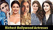 Share4all » Celebrities » Top Ten Bollywood Wealthy Actresses