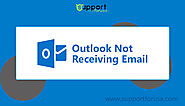 Outlook not receiving email