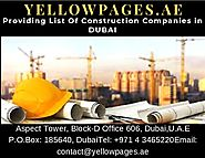 Construction Companies in DUBAI, Building Construction Companies - Yellowpages.ae