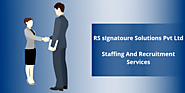 Staffing & Recruitment Services | Recruitment Solutions - RS sIgnatoure