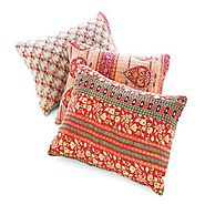 Cotton pillow covers wholesale suppliers, manufacturers in india