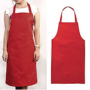 Cotton aprons wholesale-white organic bib apron manufacturers