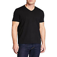 V neck tshirts manufacturers & wholesale suppliers plain white