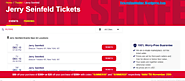 Jerry Seinfeld Tickets Near You Orchestra Seats Stand-Up Tickets – Tickets Land Online