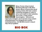 Bio box - How to Make it Compelling