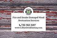 Fire damaged wood restoration services in Clark, NJ