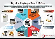 Tips for Buying a Bread Maker