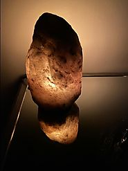 Himalayan Glow Grey salt lamp