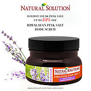 Natural Solution Himalayan Pink Salt Body Scrub