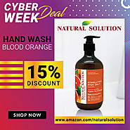 Natural Solution Himalayan Pink Salt Blood Orange Hand Wash