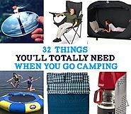 32 Things You'll Totally Need When You Go Camping