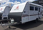 Bring with you the lightweight and compact caravan
