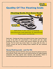 Quality Of The Floating Seals-SAP Parts | edocr