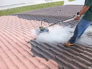 Roof Pressure Cleaning Service in West Palm Beach, Florida