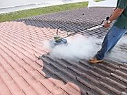Roof Pressure Cleaning Services in Delray Beach, Florida