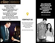 Millionaire Matchmaker | Exclusive Matchmaking Agency Melbourne