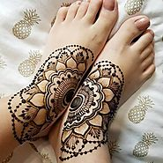 Latest Mehndi Designs For Foots - Sensod - Create. Connect. Brand.