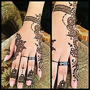 Top 20 Front And Back Hands Simple Mehndi Designs Ideas - Sensod - Create. Connect. Brand.