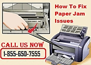 How to Fix Paper Jam Issues in Canon Printer 1(855)650-7555