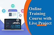 Online PHP Training Course and Live Project Details