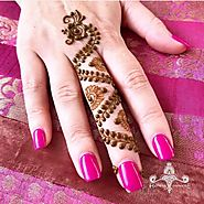 Enchanting and Impressive Easy Mehndi Designs To Be Applied in Less Time - Sensod - Create. Connect. Brand.