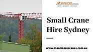 If you are looking for the small crane hire Sydney, you are in the right place. Mantikore Cranes provides c…