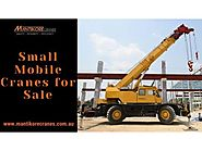 Small Mobile Cranes For Sale - Sydney