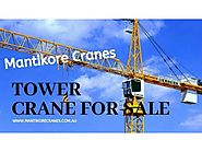 Tower Crane For Sale - Sydney