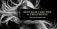 12 Best Hair Care Tips & Treatments -Scaevola Australia