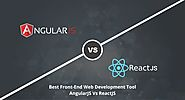 Choosing the Best Front-end Web Development Tool: AngularJS Vs ReactJS