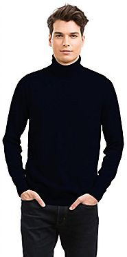 Citizen Cashmere Men's Roll Neck Jumper