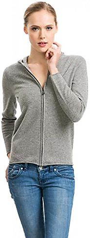 Citizen Cashmere Zip up Hoodies for Womens