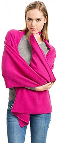 Women's Cashmere Wrap - 100% Cashmere - by Citizen Cashmere