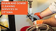 Drain And Sewer Cleaning Services In Ottawa