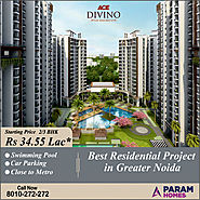 Ace Divino - 2 BHK Apartments in Noida Extension
