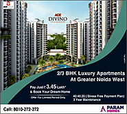 Ace Divino 2 BHK Apartments in Greater Noida West