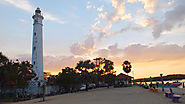 Visiting the Batticaloa Lighthouse