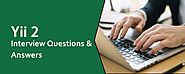 Best Yii 2 Interview Questions and Answer Preparation Resources